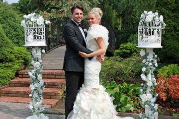 Wedding Doves at Orsett Hall